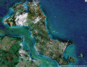 pulau bangka dari udara (wikimapia.com)