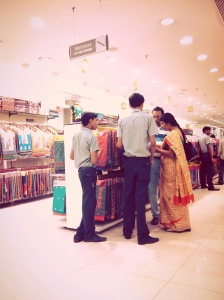 At Thyagaraya Nagar Chennai